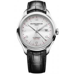 Baume & Mercier Men's Watch Clifton 10112 Dual Time Automatic