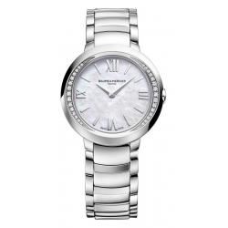 Baume & Mercier Ladies Watch Promesse 10160 Diamonds Mother of Pearl