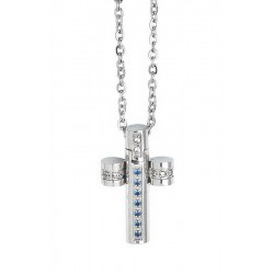 Buy Boccadamo Men's Necklace Man AGR164B Cross
