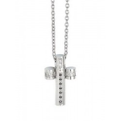 Buy Boccadamo Men's Necklace Man AGR164N Cross