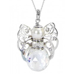 Buy Boccadamo Ladies Necklace Kerubina KUGR02 Swarovski Angel