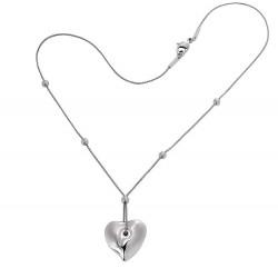 Buy Breil Ladies Necklace Feeling TJ0858 Heart