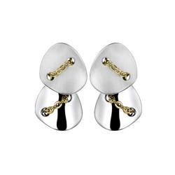 Buy Breil Ladies Earrings Back To Stones TJ1378