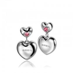 Buy Breil Ladies Earrings Love Around TJ1704 Heart