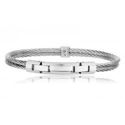 Buy Breil Men's Bracelet Cable TJ1827