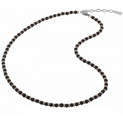Breil Men's Necklace Black Onyx TJ2410