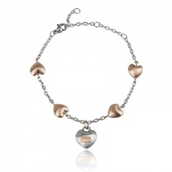 Buy Breil Ladies Bracelet Kilos Of Love TJ2727 Heart