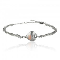 Buy Breil Ladies Bracelet Kilos Of Love TJ2729 Heart