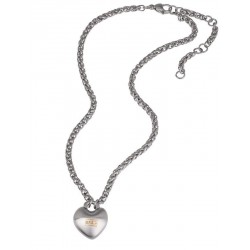 Buy Breil Ladies Necklace Kilos Of Love TJ2855 Heart