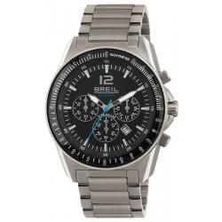 Breil Men's Watch Titanium TW1657 Solar Chronograph