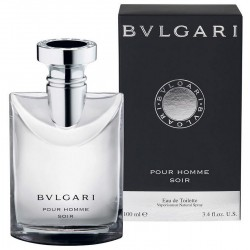 Bulgari Pour Homme Soir Perfume for Men Eau de Toilette EDT 100 ml