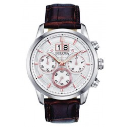 Buy Bulova Men's Watch Sutton Classic 96B309 Quartz Chronograph