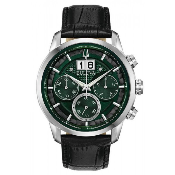 Buy Bulova Men's Watch Sutton Classic 96B310 Quartz Chronograph