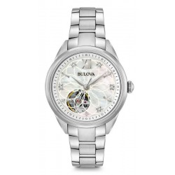 Buy Bulova Ladies Watch Classic 96P181 Diamonds Mother of Pearl