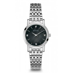 Buy Bulova Ladies Watch Diamonds 96S148 Mother of Pearl Quartz