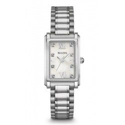 Buy Bulova Ladies Watch Diamonds 96S157 Mother of Pearl Quartz