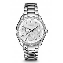 Buy Bulova Ladies Watch Diamonds 96W195 Quartz