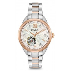 Buy Bulova Ladies Watch Classic 98P170 Diamonds Mother of Pearl