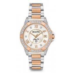 Buy Bulova Ladies Watch Marine Star 98R234 Diamonds Mother of Pearl