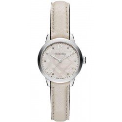 Buy Burberry Ladies Watch The Classic Round BU10105 Diamonds
