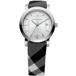 Buy Burberry Unisex Watch The City Nova Check BU1378