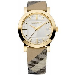 Buy Burberry Ladies Watch The City Nova Check BU1398