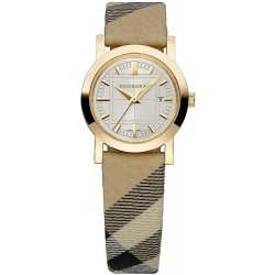Buy Burberry Ladies Watch The City Nova Check BU1399