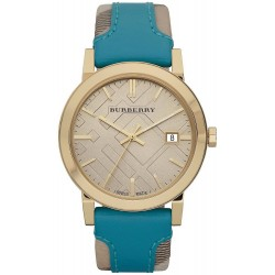 Buy Burberry Ladies Watch Heritage Nova Check BU9018