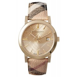 Buy Burberry Unisex Watch The City Nova Check BU9026