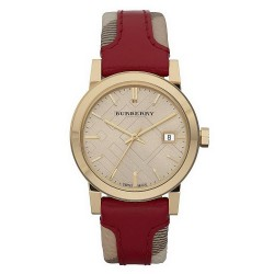 Buy Burberry Ladies Watch Heritage Nova Check BU9111
