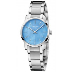 Calvin Klein Ladies Watch City K2G2314X Mother of Pearl