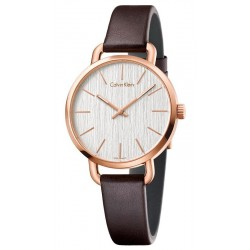 Calvin Klein Ladies Watch Even K7B236G6