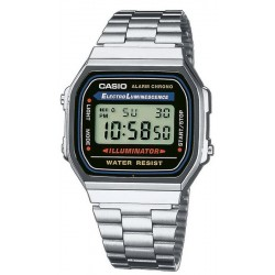 Buy Casio Vintage Unisex Watch A168WA-1YES
