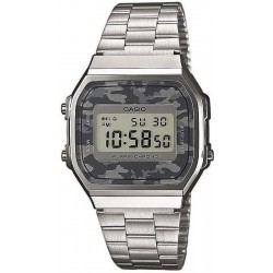 Buy Casio Collection Unisex Watch A168WEC-1EF Camouflage Multifunction Digital