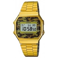 Buy Casio Collection Unisex Watch A168WEGC-5EF Camouflage Multifunction Digital