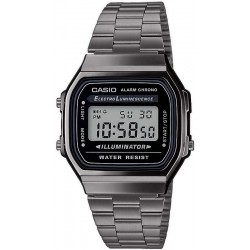 Buy Casio Vintage Unisex Watch A168WEGG-1AEF