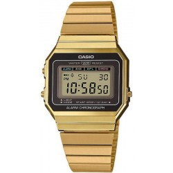 Buy Casio Vintage Unisex Watch A700WEG-9AEF
