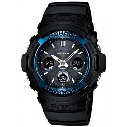 Buy Casio G-Shock Men's Watch AWG-M100A-1AER Multifunction Ana-Digi Solar