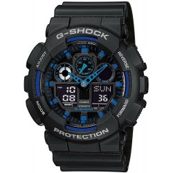 Buy Casio G-Shock Men's Watch GA-100-1A2ER Multifunction Ana-Digi