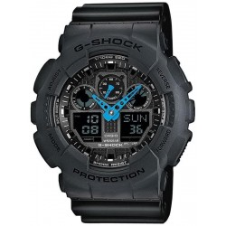 Buy Casio G-Shock Men's Watch GA-100C-8AER Multifunction Ana-Digi