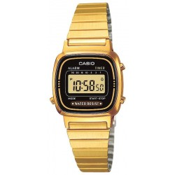 Buy Casio Collection Ladies Watch LA670WEGA-1EF Digital Multifunction