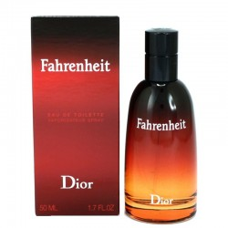 Buy Christian Dior Fahrenheit Perfume for Men Eau de Toilette EDT Vapo 50 ml