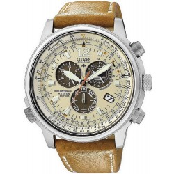 Citizen Men's Watch Chrono Eco-Drive Radio Controlled AS4020-44B
