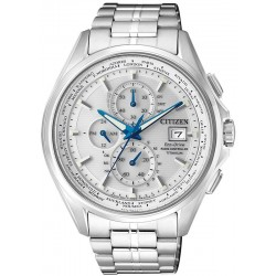 Citizen Men's Watch Radio Controlled H800 Eco-Drive Titanium AT8130-56A