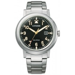 Citizen Men's Watch Military Eco Drive AW1620-81E