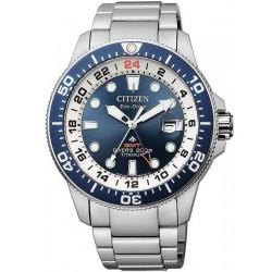 Citizen Men's Watch Promaster Diver's Eco-Drive Super Titanium GMT BJ7111-86L