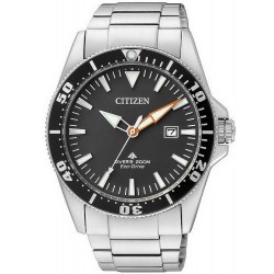 Citizen Men's Watch Promaster Marine Diver's Eco-Drive 200M BN0100-51E