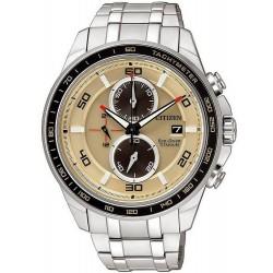 Citizen Men's Watch Super Titanium Chrono Eco-Drive CA0348-53W