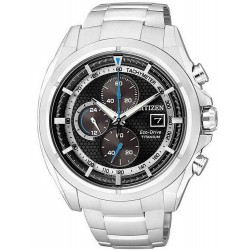 Citizen Men's Watch Super Titanium Chrono Eco-Drive CA0550-52E