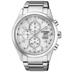 Citizen Men's Watch Super Titanium Chrono Eco-Drive CA0650-82A